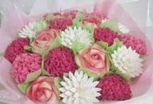 bouquets de gateaux