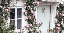 houses in bloom