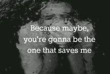I'm Mr Brightside. / we don't look back in anger.