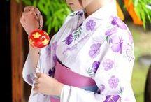 :: Japanese Kimono / Kimono, Yukata, Clothes