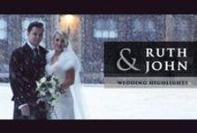 Mini Movies + Wedding Films / Amazing wedding videos I love and mini wedding movies.