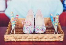 Kick-Ass Wedding Shoes / Awesome alternative wedding shoes for brides, bridesmaids and the wedding party :)
