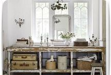 Shabby Chic / Shabby Chic style. Love it.