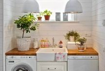 Laundry / Inspiration for one of the most important rooms in your home, the laundry room!