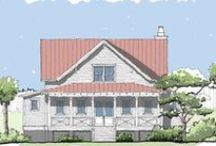Compass Cove Home Plan / The Compass Cove plan is an elevated crawl space design, featuring a beautifully symmetrical aesthetic and expansive porches to optimize your lot's views.