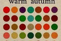 style: deep autumn & capsule / seasonal palette and capsule wardrobe