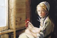 Amish / N.A. Noel Amish Paintings