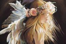 Angels / N.A. Noel Angel Paintings