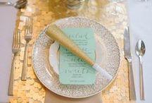 {gilded} wedding / gold | glitter | gilded | metallic | wedding inspiration | wedding invitations | wedding stationery