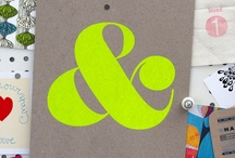 & ampersand & / i love the simple ampersand. it is so much more appealing than the word 'and' so here are my favorite &'s for inspiration and eye candy.