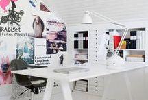 studio. / studio | home office | workspace | desk | design studio