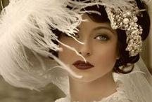 {art deco} wedding / art deco | vintage | 1920's | unique wedding | wedding inspiration | wedding invitations | wedding stationery