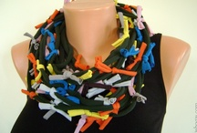 Hand made scarves for spring & summer / Hand made scarves for spring & summer.
