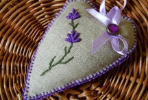 Lavender bags / Hand made lavender bags from Agas Bogas Creative Studio:)