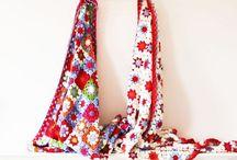 Crochet Blankets, pillows
