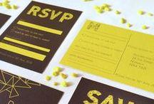 {geometry rocks} wedding / geometric | geometry | neon | wedding inspiration | wedding invitations | wedding stationery