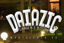 """Daiazic - Garden & Bistro / Daiazic îmbină atmosfera caldă cu mâncarea bună menită să gâdile papilele gustative, berea rece pentru timpuri calde și ceaiuri calde pentru vremuri reci. Păi, Daiazic că la noi este locul ideal pentru petreceri frumoase cu muzică bună și mâncare apetisantă și pentru oameni prietenoși și zâmbitori care vor să se relaxeze la umbra """"ciupercuțelor"""" noastre sau să savureze ceva bun în căsuța noastră!"""