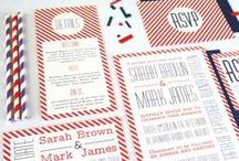 {retro romance} wedding / retro | 1950's | vintage | unique wedding | wedding inspiration | wedding invitations | wedding stationery
