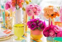 {colourful} wedding / colourful | bright | modern | contemporary | unique wedding | wedding inspiration | wedding invitations | wedding stationery