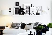 gallery walls & prints / gallery wall inspiration | prints | studio inpiration boards | mood boards