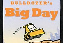 Bulldozer's Big Day / Bulldozer's Big Day by Candace Fleming, illustrated by Eric Rohmann, Atheneum Books for Young Readers