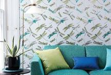 SUMMERTIME / Everyone loves the sunshine! So here are some interiors that just evoke Summertime chic...