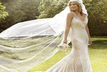 Celebrity Wedding Dresses ♡