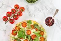 Recipes - Pasta, pizza & sauces