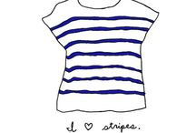 Stripes / Stripes are one of my great loves in life.