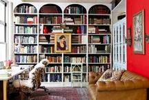 Work: Writer's rooms & bookshelf porn / Some great rooms, desks, chairs, and bookshelfs