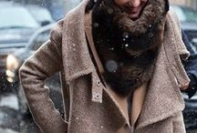 Fashion: Fall and Winter / Clothing for the chilly and cold months of the year.