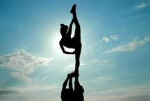 cheerleading ∘ / don't let the fear of falling keep you from flying