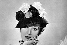 Vintage Millinery / Vintage hats. / by Nikki Crowder