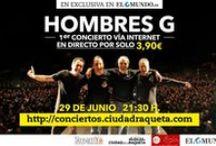 HOMBRES G - GIRA -  2013 / Próximos conciertos #Hombresg 2013