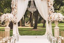 wedding decor ∘ / marriage is a partnership, it's about being a team.