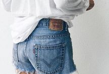 shorts ∘ / blue skies call for denim shorts