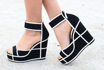 wedges ∘ / happiness is only a pair of shoes away