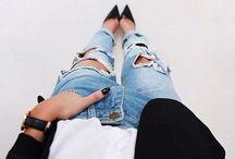 pants ∘ / when in doubt wear denim