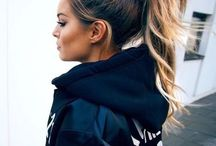 ponytails ∘ / fix your ponytail & get it done