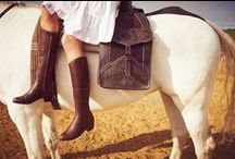 CHERAY Boots / Love of equestrian and western boots.