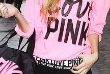 vs pink shirts ∘ / love pink