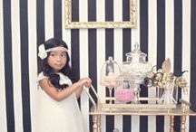 """Roaring 20s Glam Hollywood Party / Alison's """"Say Goodbye to her Roaring 20s"""" birthday party ideas.  The theme will be 20s/Gatsby style party.  The plan is for her party to be somewhere in Southern California on Saturday, October 25th. / by Andrea McGrath-Massie"""