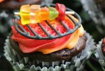 Babeczki. Mufinki. Cupcakes. / Pyszne i piękne cupcakes. Piękne inspiracje na zdobienie babeczek.