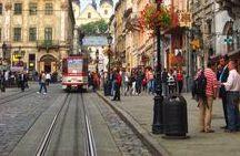 Lwów Lviv / Podróż na Wschód