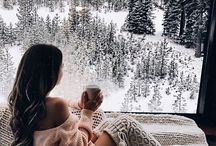 winter things ∘ / cozy nights, warm blankets & hot chocolate