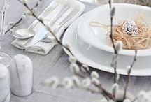 Table Setting Ideas / Decoration and Table Settings Ideas for all seasons / Finde deine passende Tischdekoration