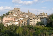 i Monti Cimini e il borgo di Soriano.Mounts Cimini and the village of Soriano / In occasione della festa della castagna della Tuscia...Monti e borghi in festa..During the chestnut festivals  in Tuscia..Mounts and villages celebrate..