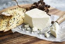 "CHEESE. Fromage. Käse. / ""Give me a good sharp knife and a good sharp cheese and I'm a happy man."" ― George R.R. Martin"