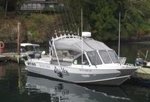 The Boat / Here are some photos of our chariot! Lots of space, lots of speed and a whole lot of fun!