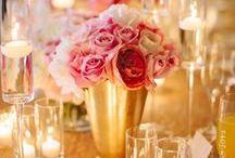 Glamorous Gold : Wedding Color Inspiration